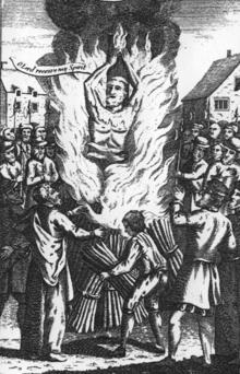 Image result for heretic burned