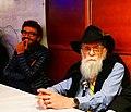 Massimo Polidoro and James Randi at ECSO cruise.jpg