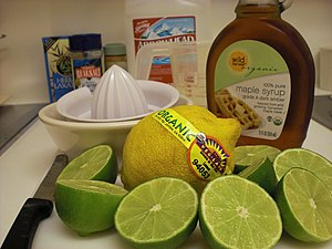 Master Cleanse - Master Cleanse ingredients