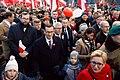 Mateusz Morawiecki na Biało-Czerwonym Marszu 11 listopada 2018.jpg