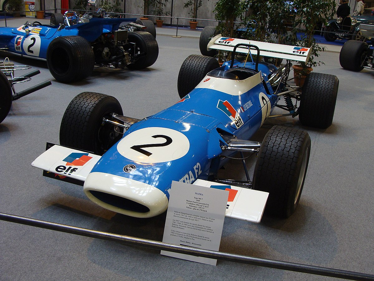 Grand Prix Racing >> Matra MS7 - Wikipedia