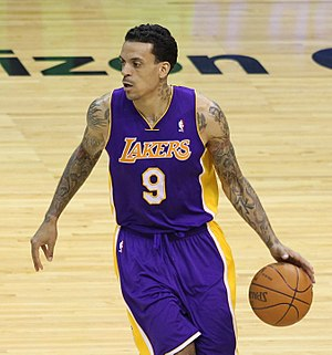 Matt Barnes - Barnes with the Lakers in March 2012