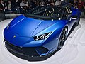 Matte Blue Lamborghini Huracan Performante Spyder (Ank Kumar, Infosys) 05.jpg