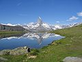 Matterhorn Reflected in Riffelsee.JPG