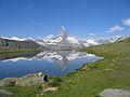 Matterhorn Reflected in Riffelsee.JPG