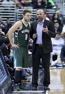 f0ebb8333013 Kidd giving instructions to Matthew Dellavedova during his tenure as Bucks  coach
