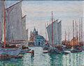 Max Arthur Stremel Schiffe in Venedig.jpg