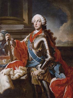 Georg Desmarées - Image: Maximilian III Joseph of Bavaria by Georges Desmarées