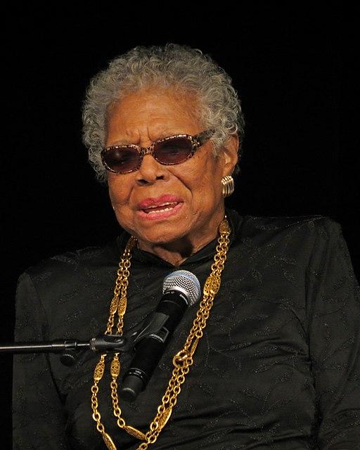 Maya Angelou visits YCP Feb 2013