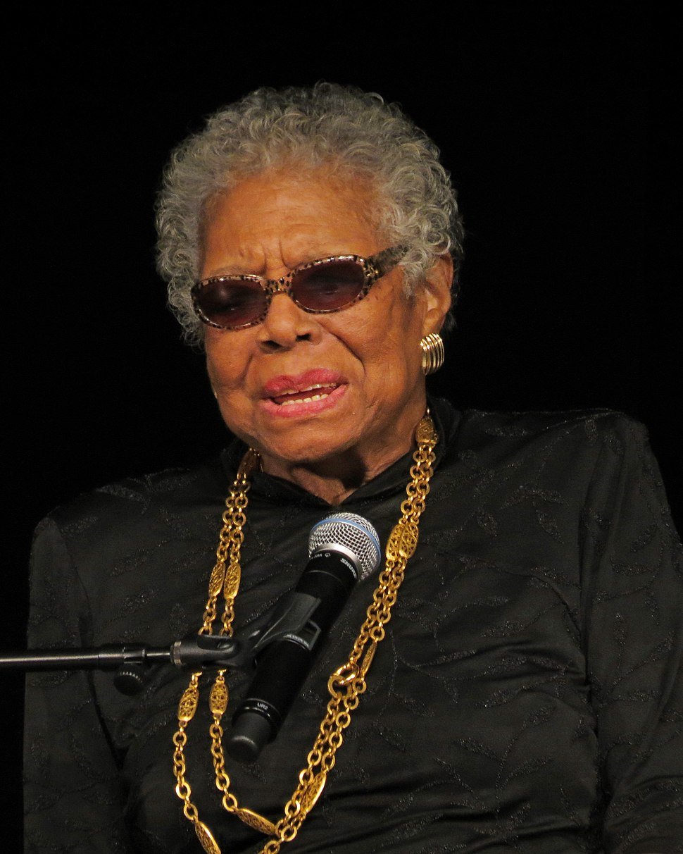 Maya Angelou visits YCP Feb 2013