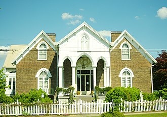 National Register of Historic Places listings in Lincoln County, Tennessee - Image: Mc Donald Bolner House tn 1