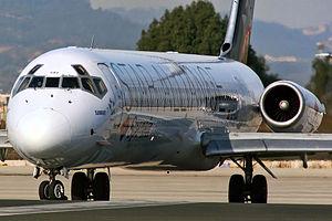 "McDonnell Douglas MD-83 (DC-9-83) Spanair EC-GXU ""Sunray"".jpg"