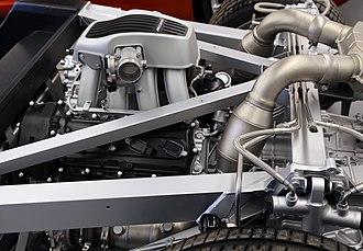 McLaren 12C - McLaren M838T Engine