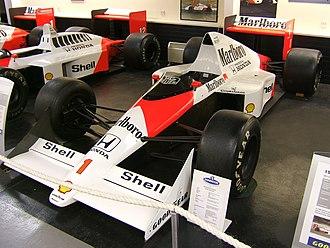 Japanese Grand Prix - Ayrton Senna's McLaren MP4/5 (1989)