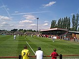 Meadow Park, where the match was played
