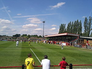 2010–11 Watford F.C. season - Borehamwood vs Watford at Meadow Park on 10 July 2010.