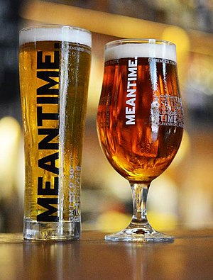 Meantime Brewery - Two pints of Meantime