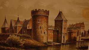 Radboud Castle - Image: Medemblik Trap kasteelen