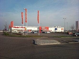 Media Markt - A Media Markt store in the shopping mall Stora Bernstorp in the city of Malmö.