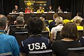 Media at the 2017 Invictus Games opening press conference (37011342580).jpg