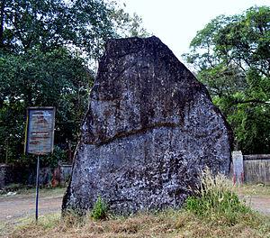 History of Thrissur - Megalithic Menhir at Ramavarmapuram Kerala