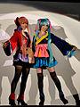 Megurine Luka & Hatsune Miku - Cosplay TGS 2011 Vocaloid.jpg