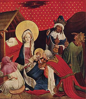Master Francke - Adoration of the Magi from the St Thomas Altarpiece