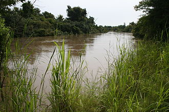 Mékrou River - Mékrou River in the W-National Park