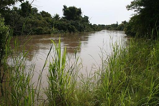 Mekrou river in W-National Park MS 6380