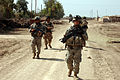 Members of B Company, 1-502nd Infantry Battalion, 101st Airborne Division conduct a patrol during Operation Desert Scorpion 060420-A-DW991-018.jpg