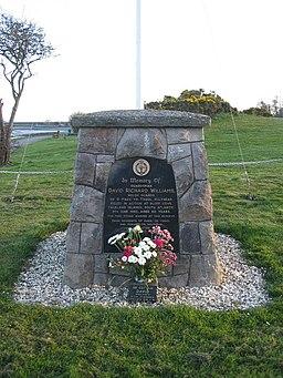 Memorial at Penrhos Coastal Park - geograph.org.uk - 404651