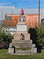 Memorial for Franz Heindl and Viktor Mrnustik next to the cemetery Liesing in Vienna, Austria-full PNr°0553.jpg