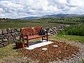 Memorial seat, to John Davidson, on Steel Brow - geograph.org.uk - 846410.jpg