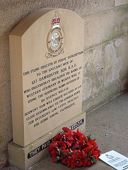 Memorial to 617 The Dambuster Squadron - geograph.org.uk - 602356