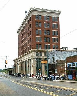 Memphis Central Station - Image: Memphis Central 020427