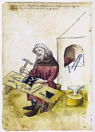 Locksmithing - Locksmith, 1451
