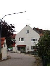 Mayrs Geburtshaus in Mendorf (Quelle: Wikimedia)
