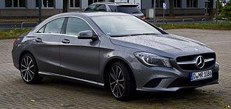 Mercedes-Benz CLA-Class - Mercedes-Benz CLA 180 Urban (C117, Germany)