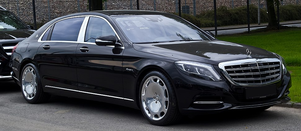 Mercedes-Maybach S 500 4MATIC (X 222) – Frontansicht, 14. September 2015, Münster