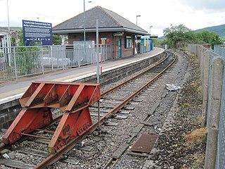 Merthyr Tydfil railway station railway station