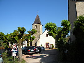 The church in Messanges