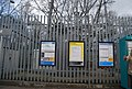Metrolink signs, Whitefield Metrolink Station - geograph.org.uk - 1218103.jpg