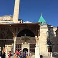 Mevlana Museum (Green Mausoleum) in Konya Turkey By Mardetanha (17).JPG