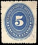 Mexico 1887 5c Sc198 used.jpg
