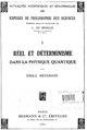 Meyerson - Réel et déterminisme dans la physique quantique.pdf