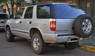 Chevrolet S-10 Blazer - Wikiwand