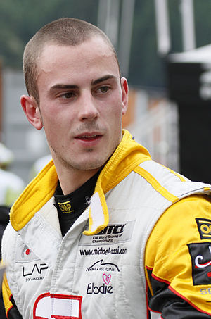 Michaël Rossi - In 2010, as a WTCC driver.