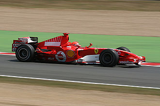 2006 French Grand Prix - The race was won by Ferrari's Michael Schumacher.