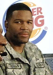 Michael Strahan American football defensive end and media personality