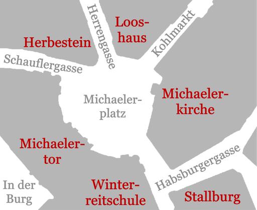 Michaelerplatz-Lage
